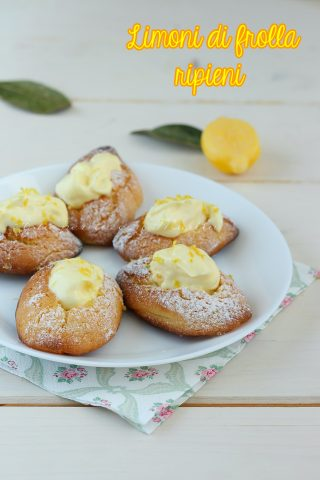 limoncini biscotti al limone
