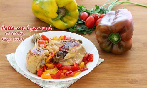 Pollo con i peperoni Magic cooker