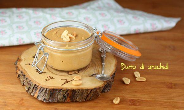 burro di arachidi fatto in casa – ricetta fit