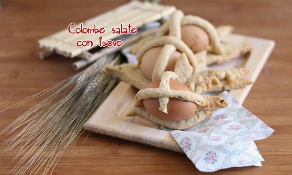 Scarcelle salate con l'uovo