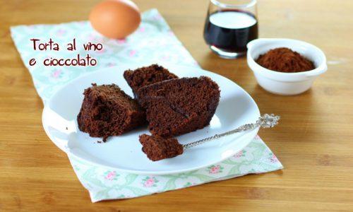 Torta al vino e cioccolato bimby