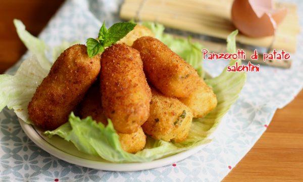 Panzerotti di patate salentini o simil crocchette salentine