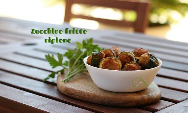 Zucchine ripiene fritte