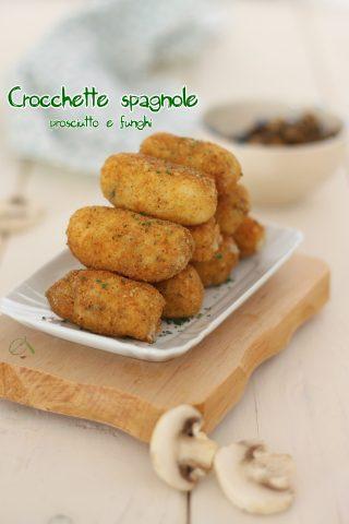 crocchette spagnole senza patate