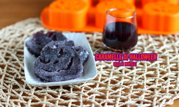 Caramelle di halloween – gelè ai mirtilli