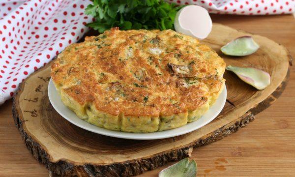Tortino di carciofi – la ricetta con carciofi di zia comasia
