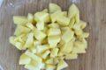 Paccheri con cozze, crema di patate e pecorino di grotta