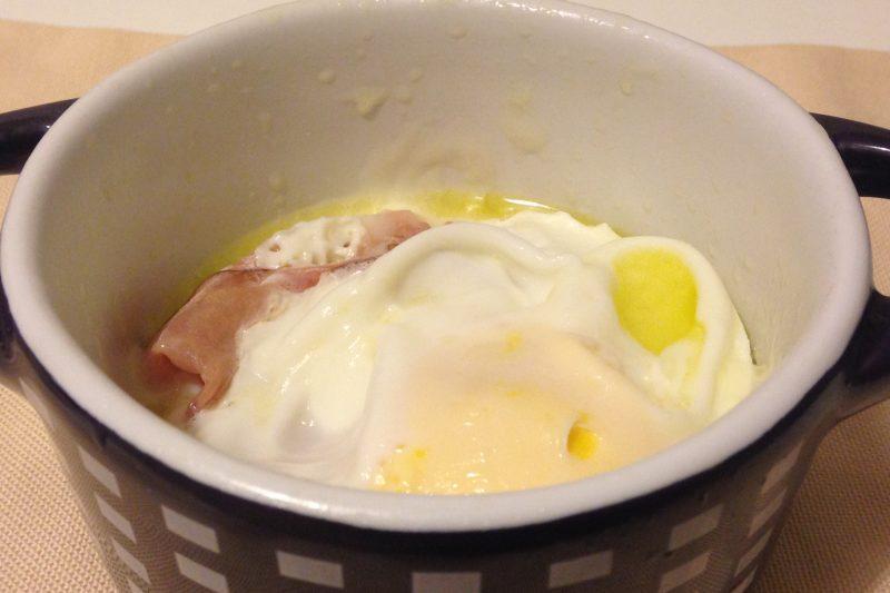 Uova in cocotte fumè, ricetta piatti unici
