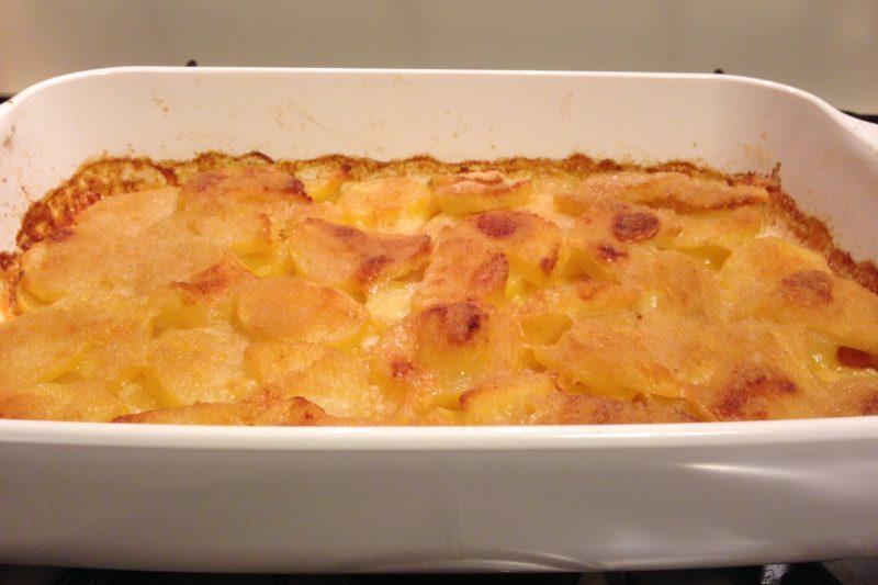 Patate al forno gratinate, ricetta contorno
