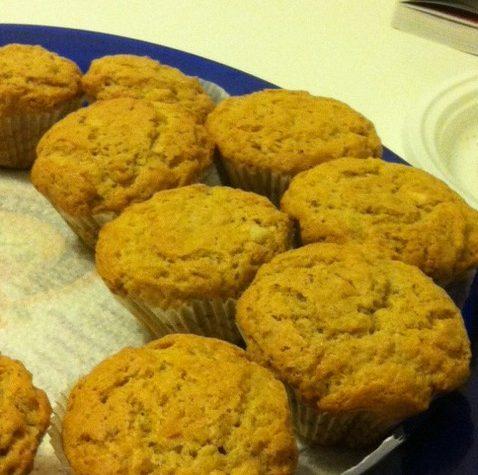 Cupcakes con noci e frutta secca, ricetta dolce