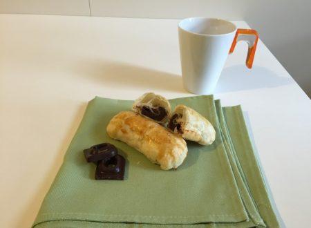 Cannoncini al cioccolato (ricetta dolce)