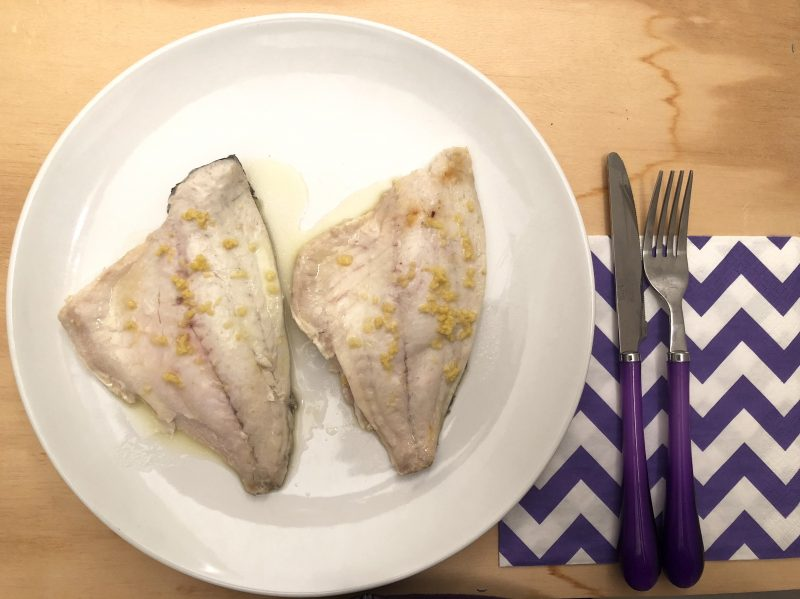 filetti di branzino Dukan
