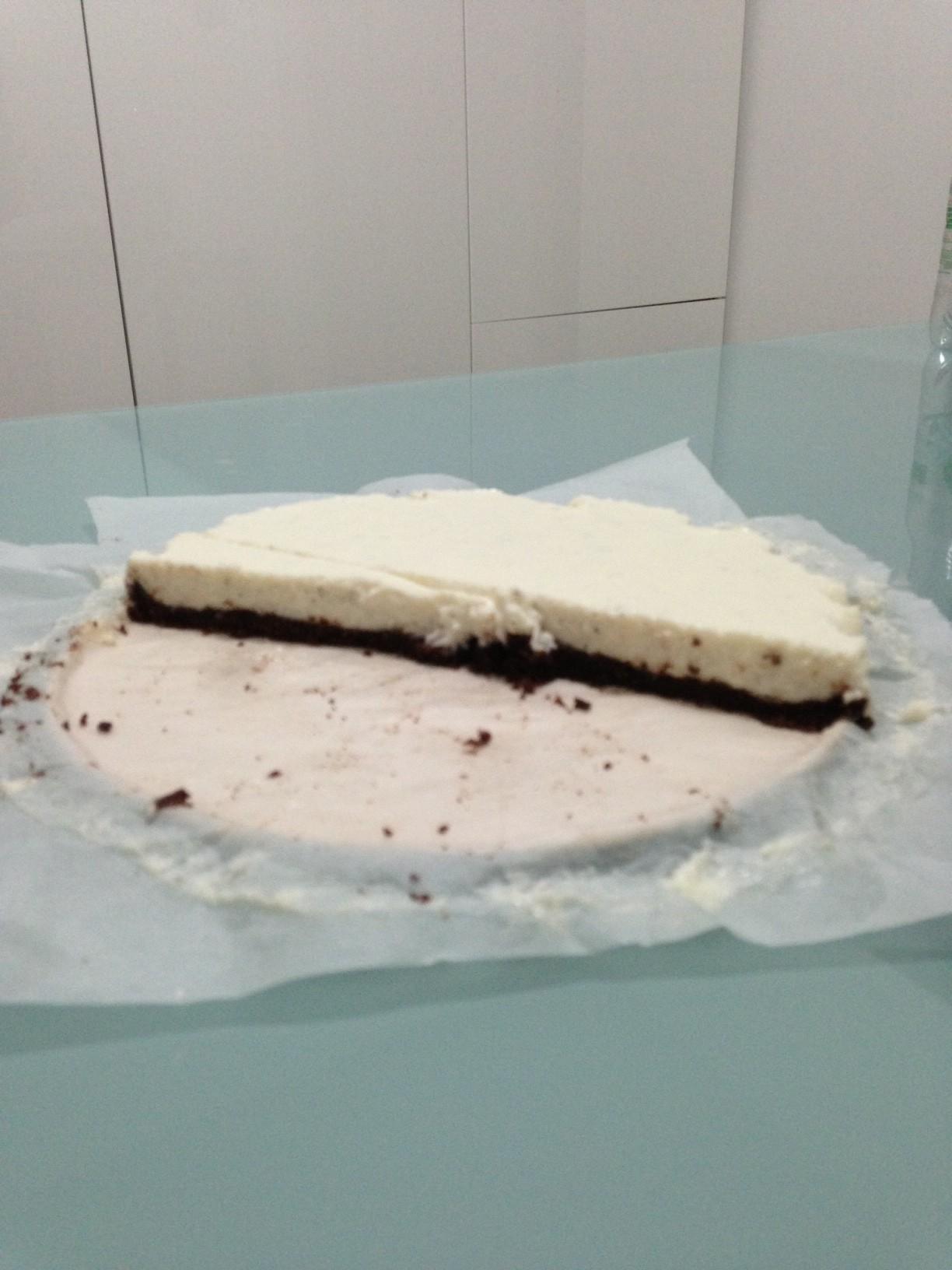 Cheesecake cocco e mascarpone
