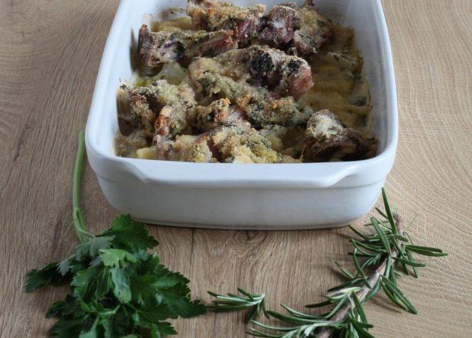 Agnello al forno con patate (ricetta secondo piatto)