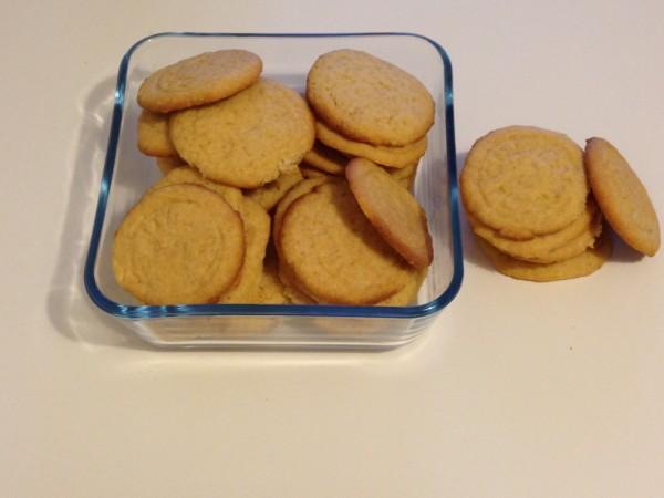 biscotti con cocco, cannella e sesamo di Luca Montersino