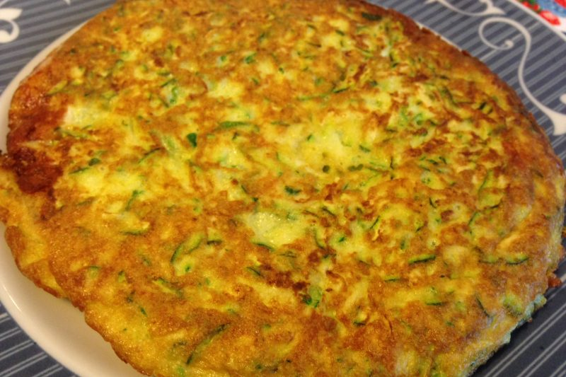 Frittata di zucchine (ricetta stuzzichino)