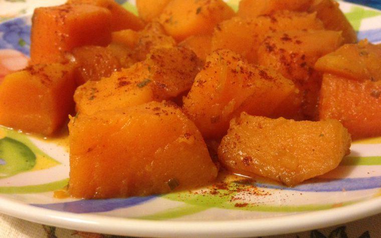 Zucca saltata in padella (ricetta contorno Dukan)