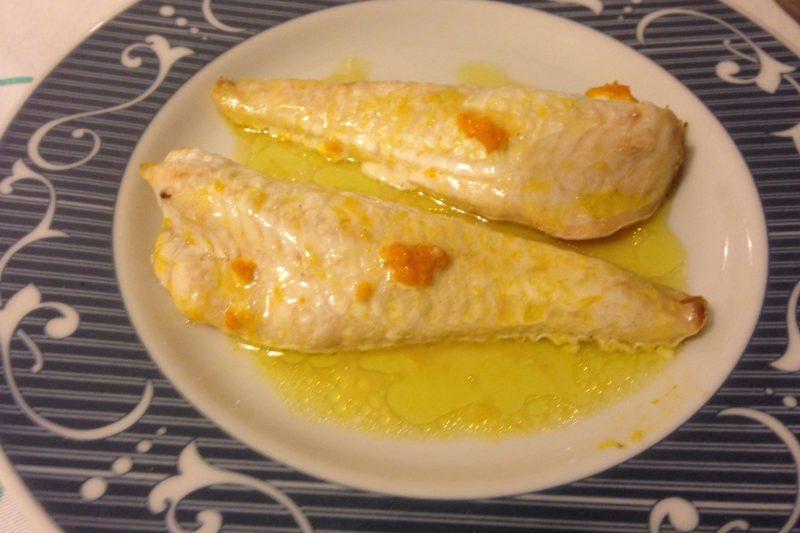 Filetti di gallinella al profumo di arancia (ricetta secondo piatto)