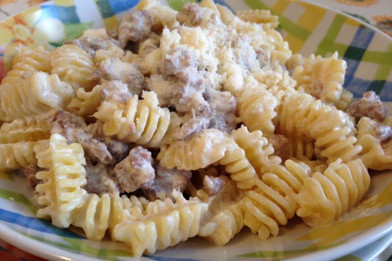 Pasta alla norcina (ricetta primo piatto)