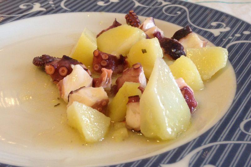 Insalata di polpo e patate (ricetta antipasto)