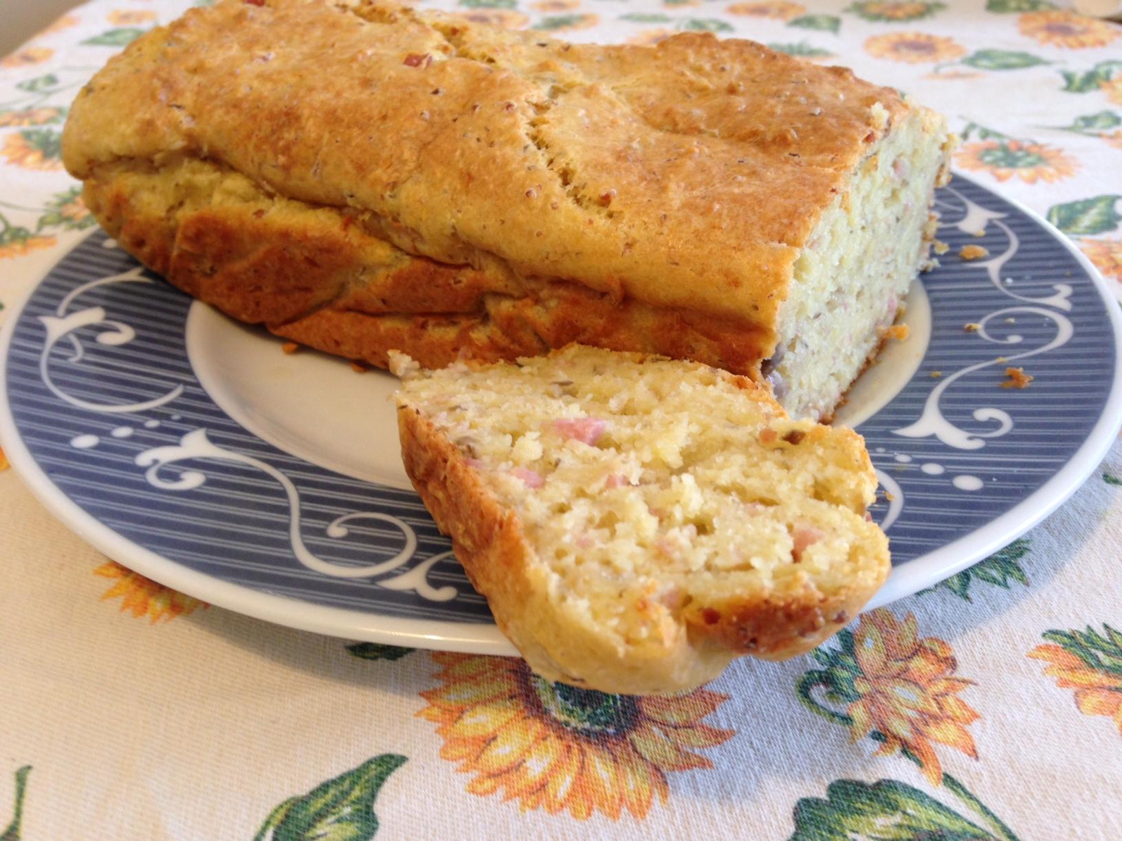 Cake salata