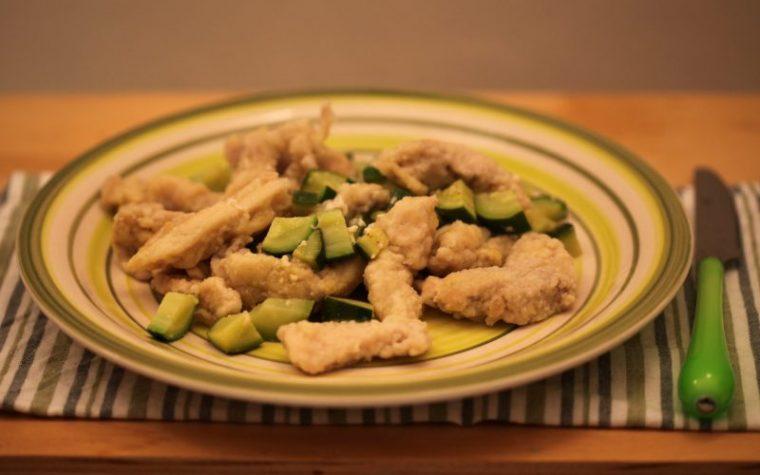 Straccetti di pollo con zucchine novelle (ricetta secondo piatto)