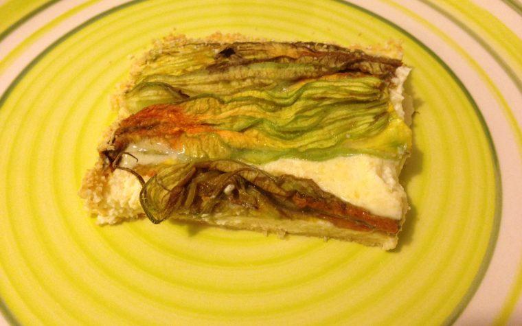 Frittata con fiori di zucchina (ricetta vegetariana)
