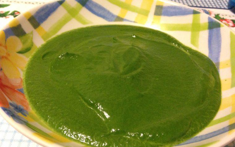 Vellutata di spinaci (ricetta Dukan)