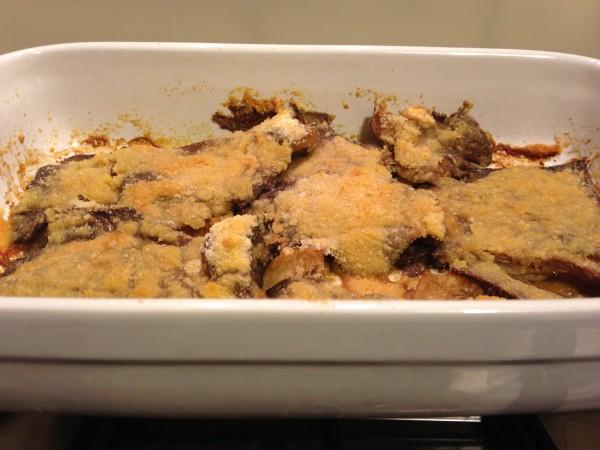 Funghi gratinati (ricette contorno vegetariano)
