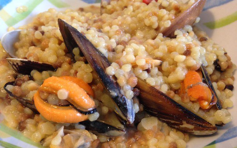 Fregola ai frutti di mare (ricetta primo piatto)
