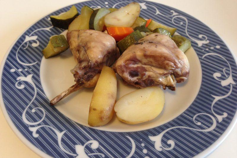 Coniglio al forno (ricetta secondo piatto)