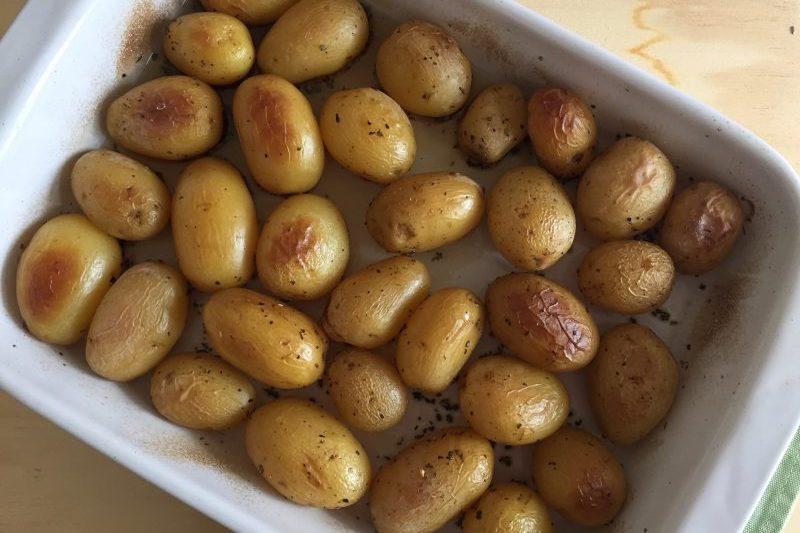 Patate novelle al forno (ricetta contorno)