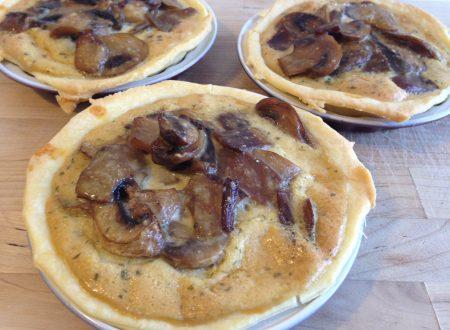 Tartellette ai funghi (ricetta secondo piatto)
