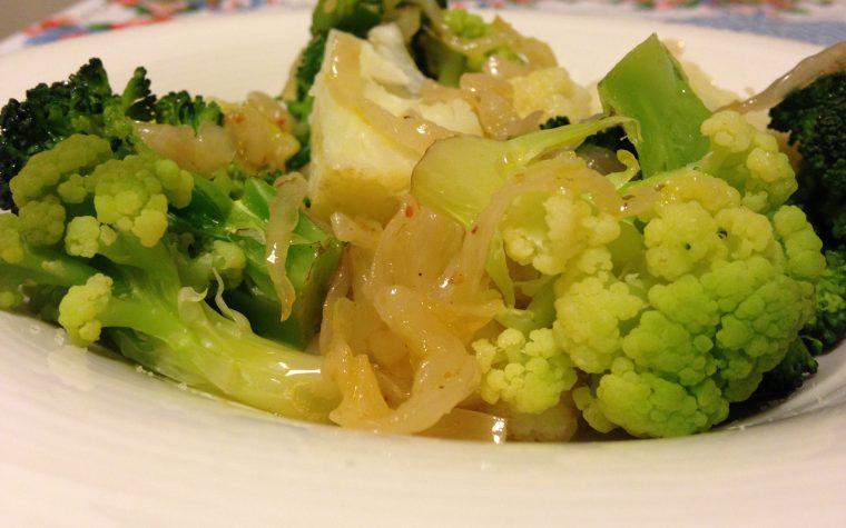 Broccoletti misti in insalata (ricetta contorno)