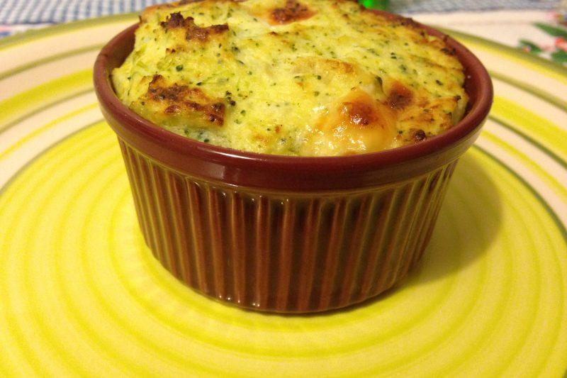 Sformatini di broccoli (ricetta vegetariana)