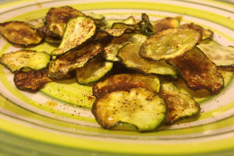 Zucchine croccanti e speziate (ricetta non fritta)