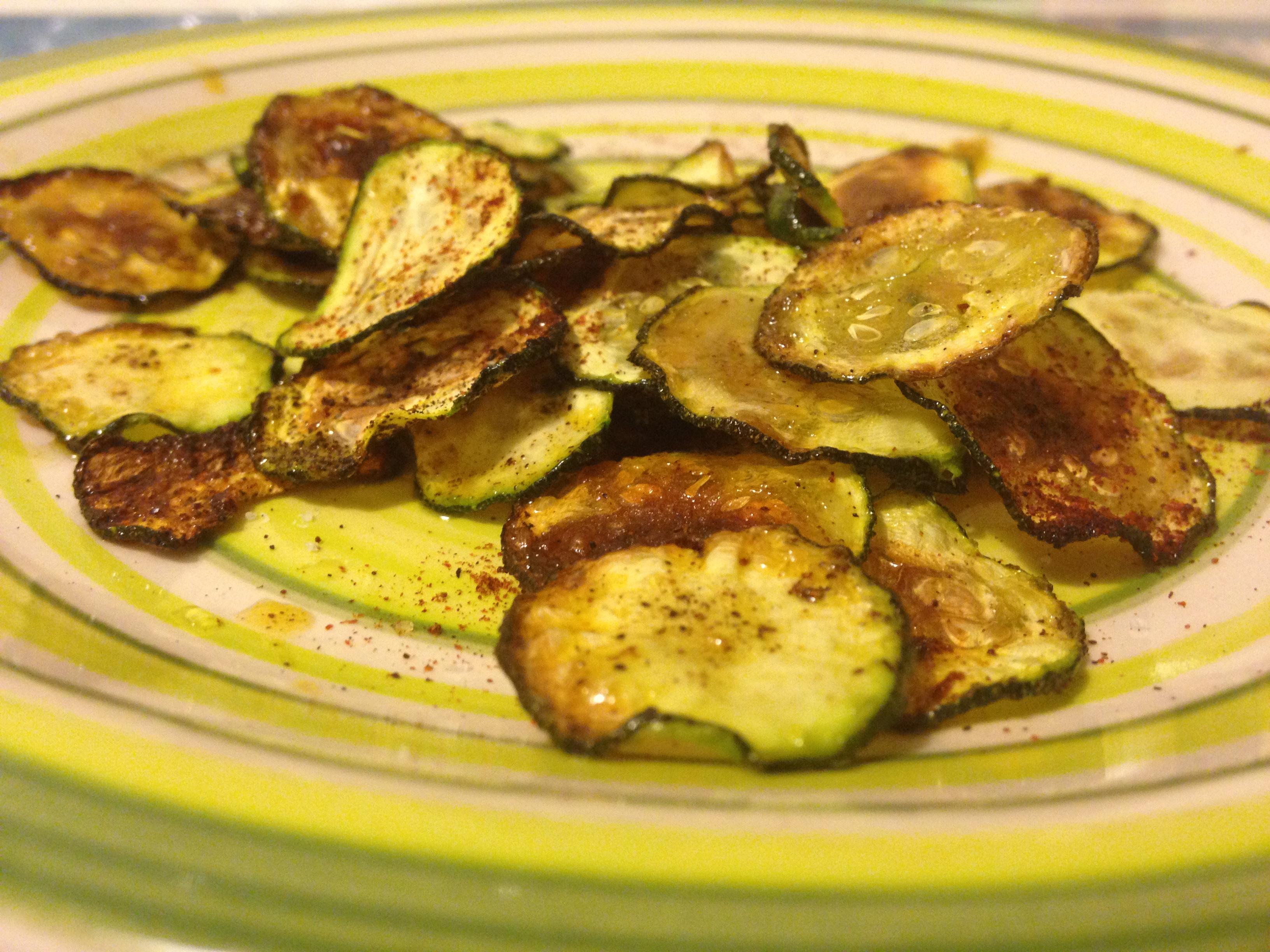 zucchine al forno speziate