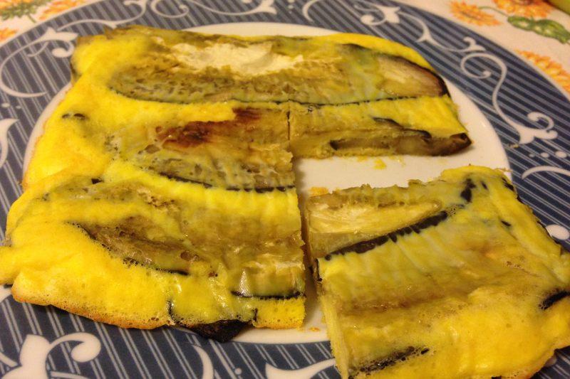 Frittata leggera di melanzane (ricetta secondo piatto)
