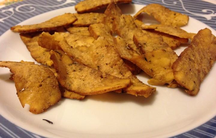 Chips di tofu (ricetta Dukan)
