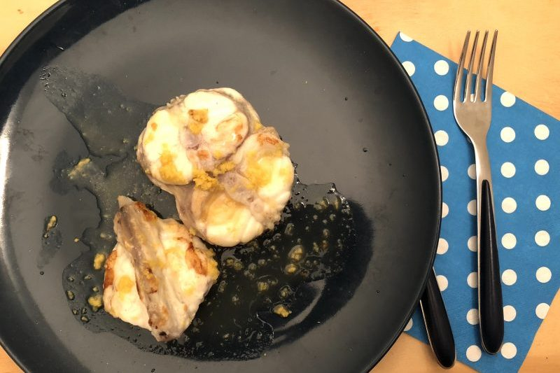 Coda di rospo al limone (ricetta secondo piatto)