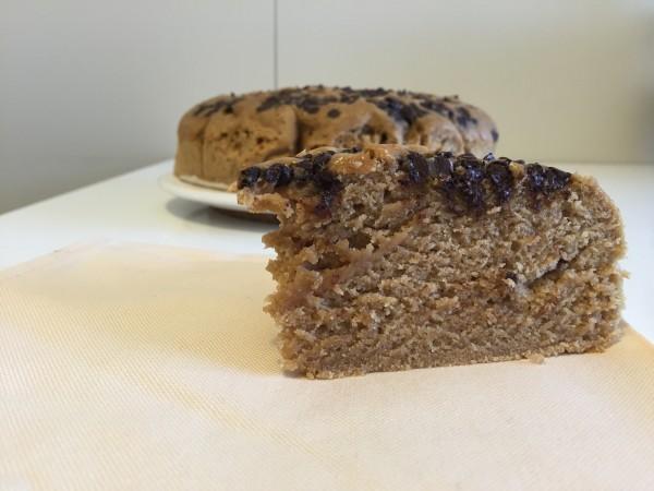 torta al caffè e cioccolato