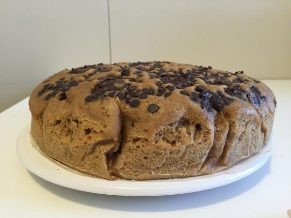 torta con caffè e cioccolato