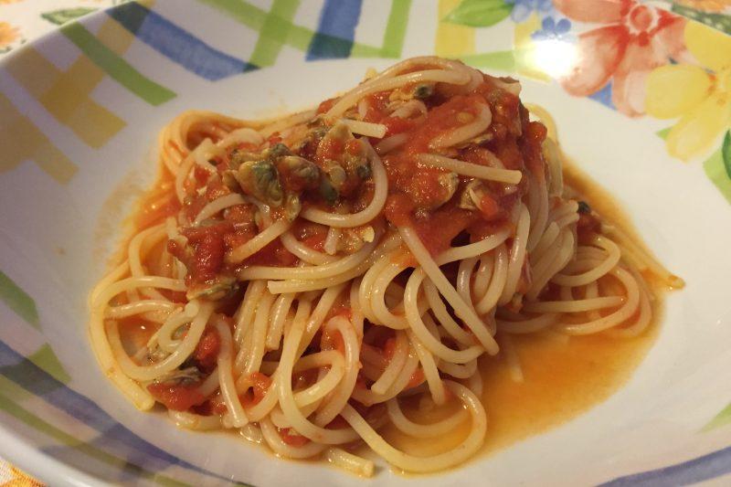 Pasta con le vongole velocissima (ricetta primo piatto)