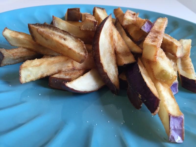 chips di melanzane