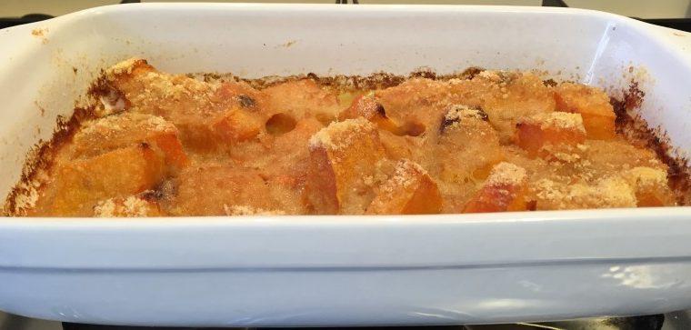 Zucca gratinata (ricetta contorno)
