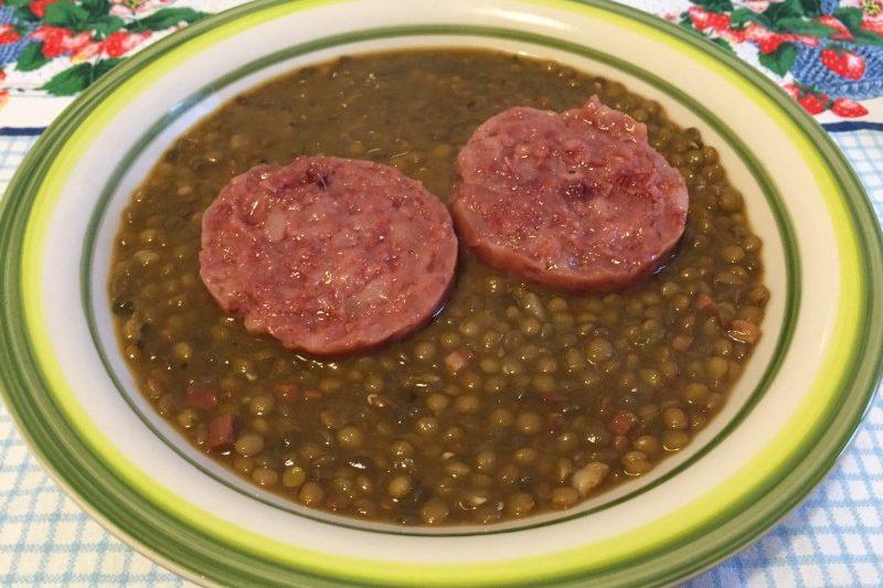 Lenticchie con il cotechino (ricetta tradizionale)