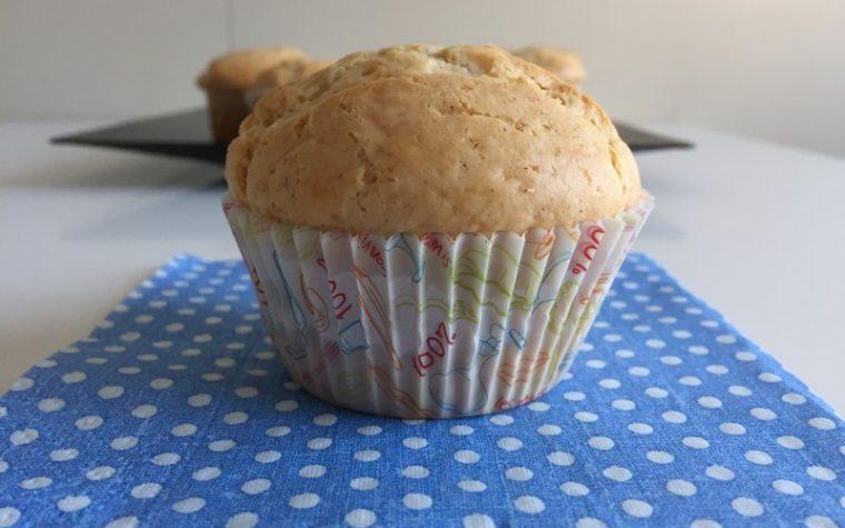 Muffin al cocco e yogurt (dolce)