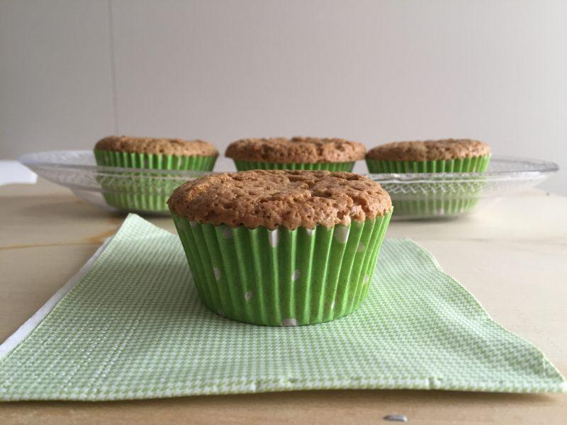 muffin al pistacchio e limone