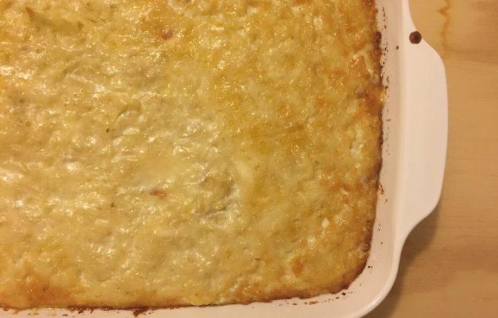 Patate al gratin (ricetta vegetariana)