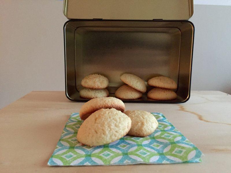 Biscotti al cocco e yogurt (ricetta senza burro)